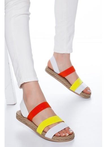 Mask Sandalet Beyaz